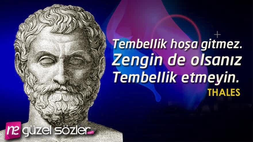 Thales Felsefe Sözleri