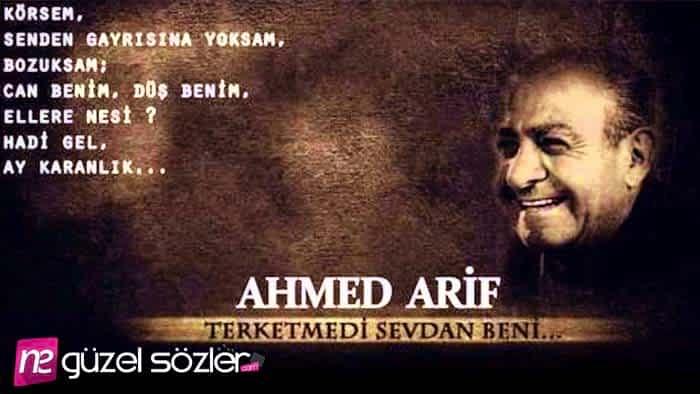 Ahmet Arif Sözleri Ahmet Arif şiirleri Ahmet Arif Alıntıları Ne