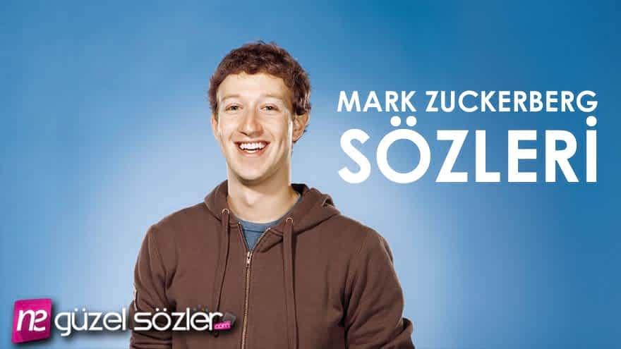 Mark Zuckerberg Anlamlı Sözler