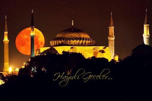 dini iyi geceler sözleri