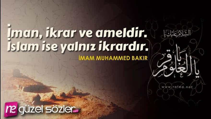 İmam Muhammed Bakır Sözleri