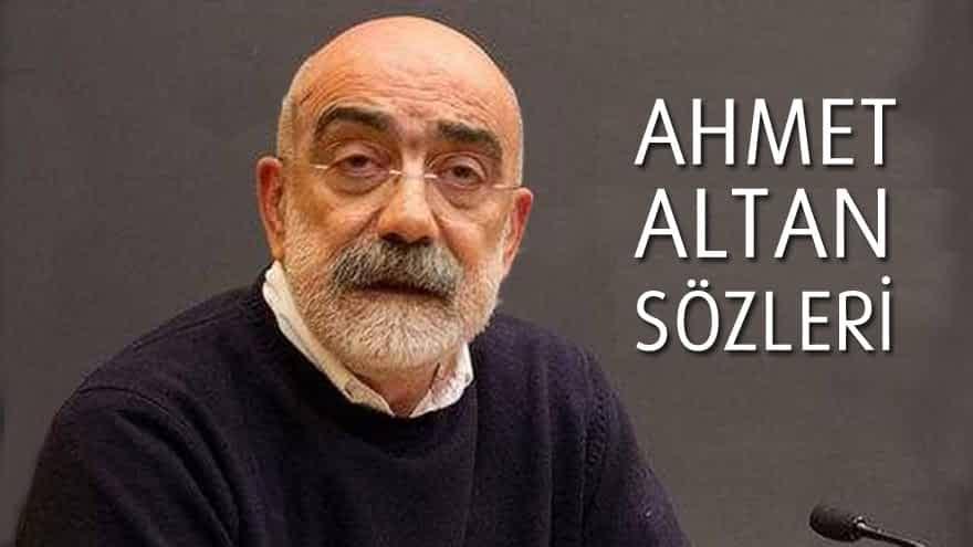 Ahmet Altan Sözleri
