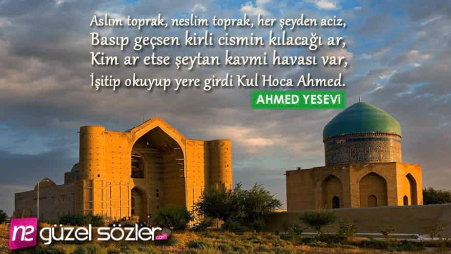Hoca Ahmet Yesevi Sözleri