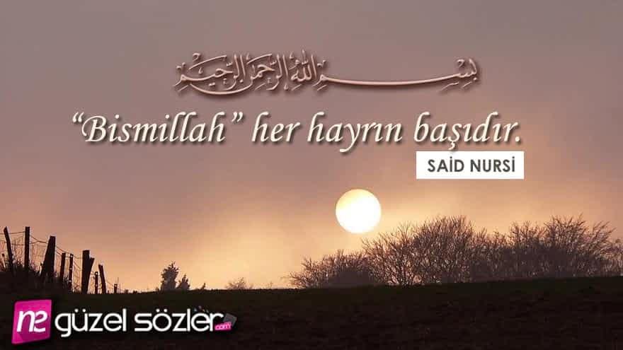 Said Nursi Güzel Sözler