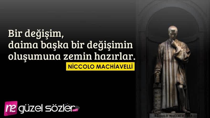 Niccolo Machiavelli Alıntılar