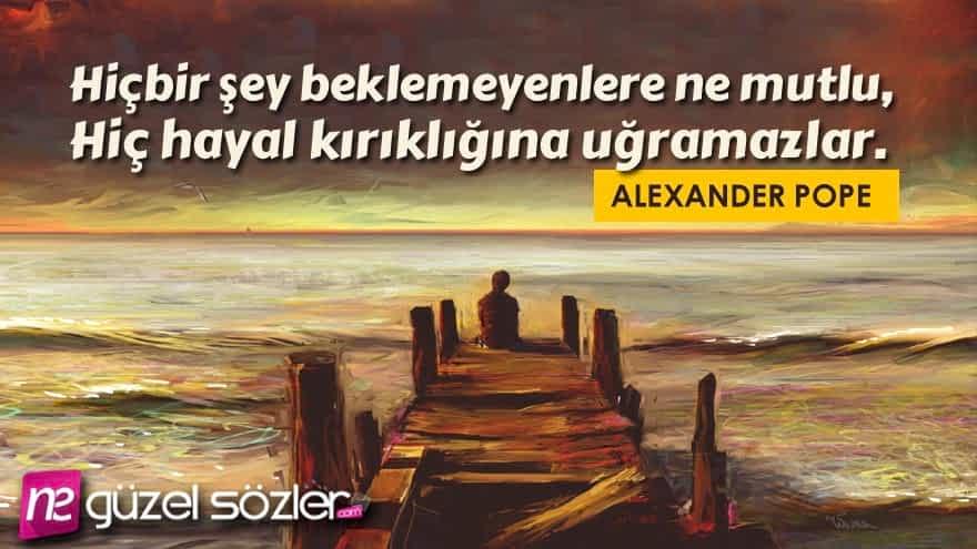 Alexander Pope Sözleri