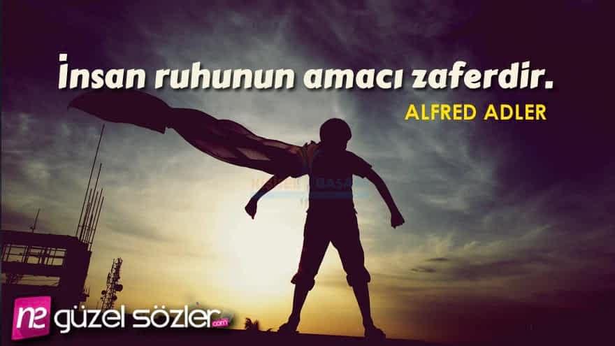 Alfred Adlar Güzel Sözler
