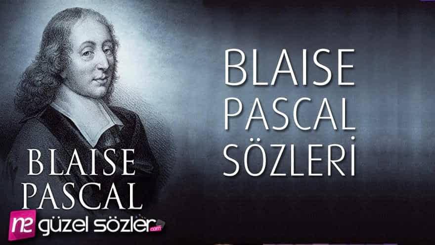 Blaise Pascal Söz
