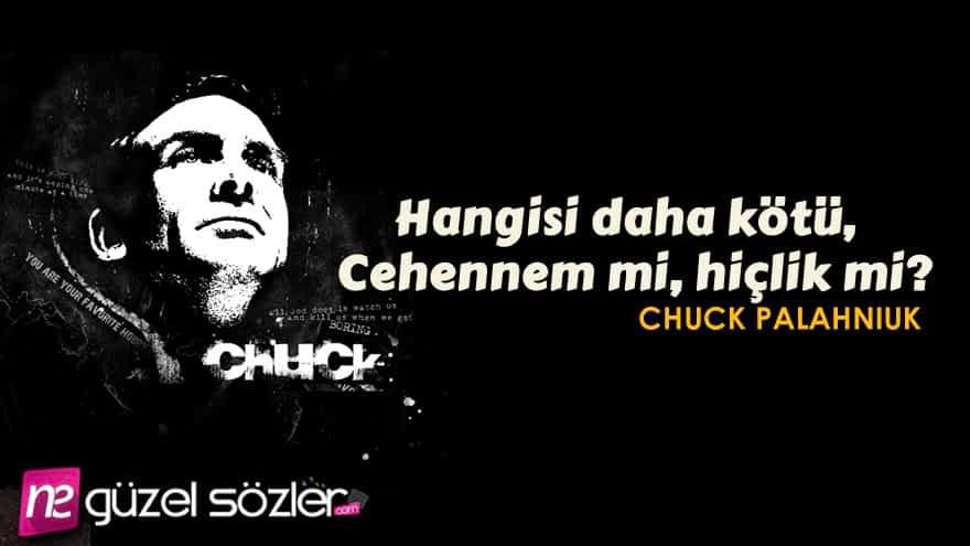 Chuck Palahniuk Sözleri