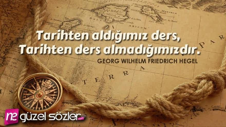 Georg Wilhelm Friedrich Hegel Güzel Sözler