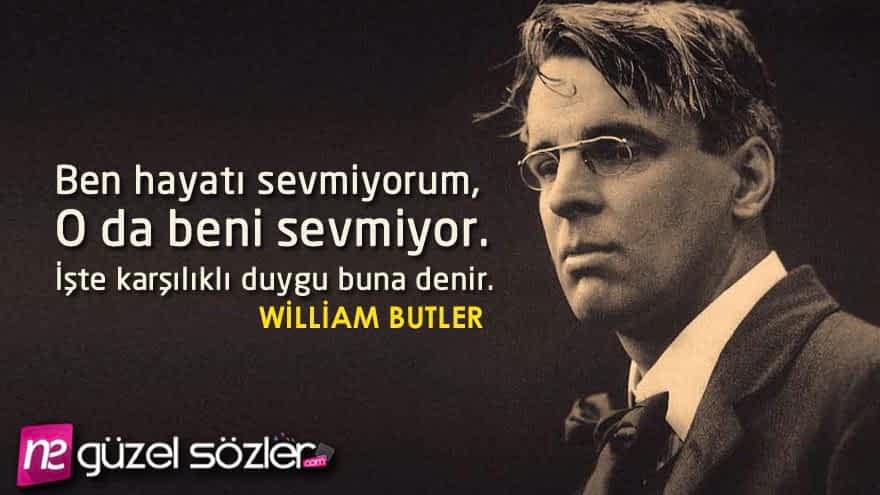 William Butler Sözleri