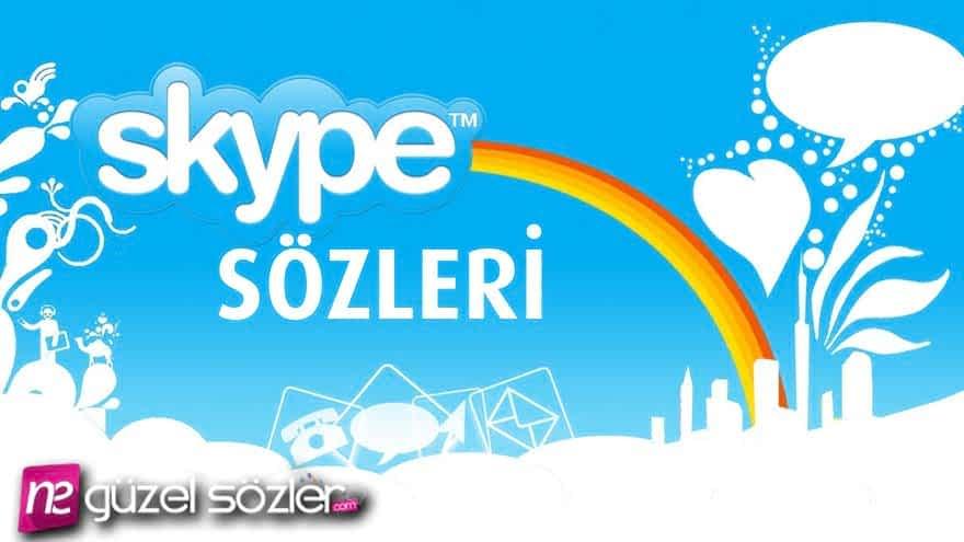 Skype Sözleri