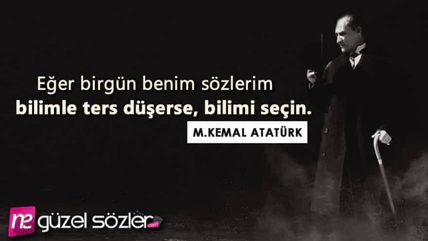 Atatürk Güzel Sözler