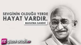 Mahatma Gandhi Sözleri