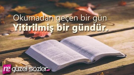 Kitap Okumak İle İlgili Sözler